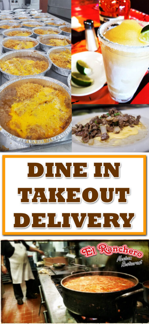 dine in takeout and delivery