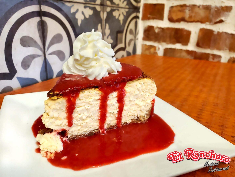 El Ranchero Strawberry Cheese Cake